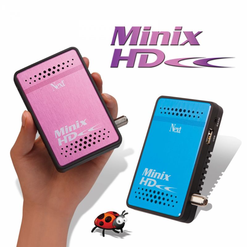 next minix hd (pembe mavi)