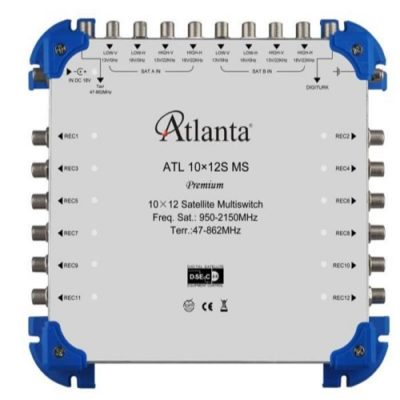 atlanta 10-12 multiswitch uydu santrali