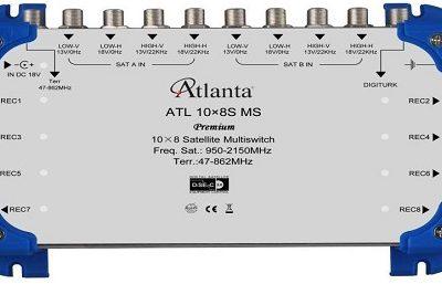 atlanta 10-8 multiswitch uydu santrali