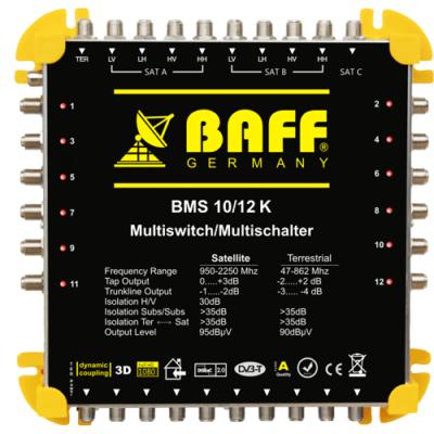 baff gold serisi 10-12 multiswitch uydu santrali