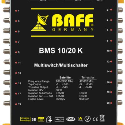 baff gold serisi 10-20 multiswitch uydu santrali