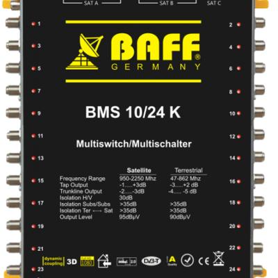 baff gold serisi 10-24 multiswitch uydu santrali