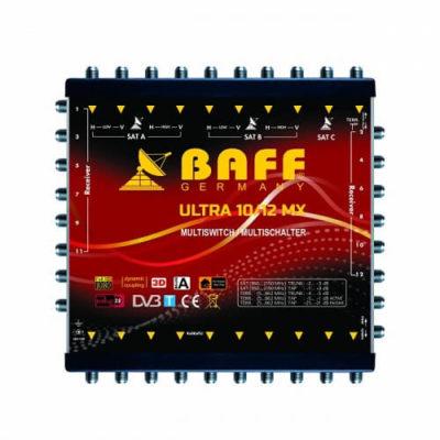 baff ultra mx serisi 10-12 multiswitch uydu santrali