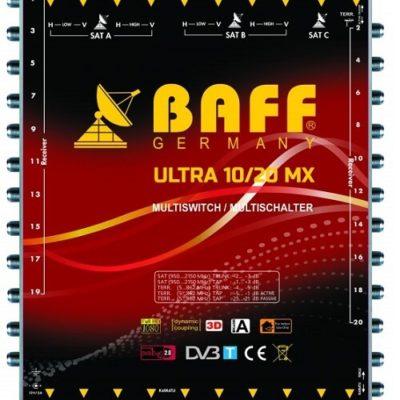baff ultra mx serisi 10-20 multiswitch uydu santrali