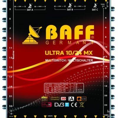 baff ultra mx serisi 10-24 multiswitch uydu santrali