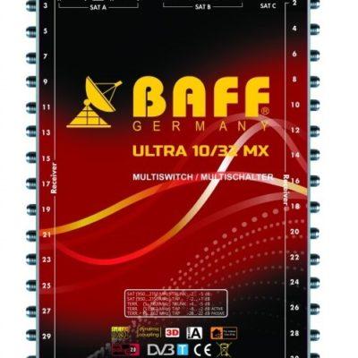 baff ultra mx serisi 10-32 multiswitch uydu santrali