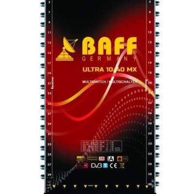 baff ultra mx serisi 10-40 multiswitch uydu santrali