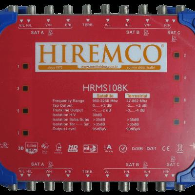 hiremco 10-8 multiswitch uydu santrali dagiticisi